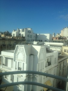 Casablanca Balcony  November 2011