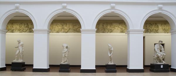 sculpture court arches