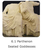 6.1 Parthenon Seated Goddesses