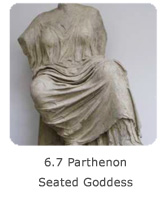 6.7 Parthenon Seated Goddess