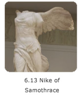 6.13 Nike of Samothrace