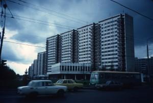 Northwestside of Leninsky Prospekt/photo 1983/photographer M Glendinning