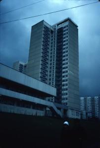 Vernadskovo Prospekt 109, Dom 9-11/22-storey towers/photo 1983/photographer M Glendinning