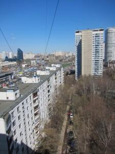 Vernadskovo Prospekt 113, entrance 4/view to north/photo 2013/photographer M Glendinning