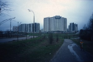 From south including Hotel Salyut/photo 1983/photographer M Glendinning