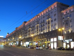 Tverskaya (Gorkovo) Ulitsa/photo 2013/photographer M Glendinning