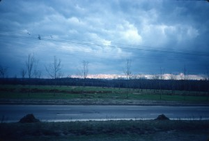 Distant view from north/photo 1983/photographer M Glendinning