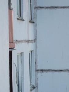 Zemlyanoi Val 41, block 1 and block 2/experimental 12-storey slab/photo 2013/photographer M Glendinning