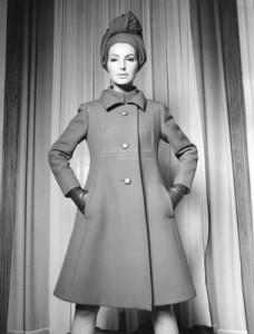 Fabiani gabardine coat, 1965