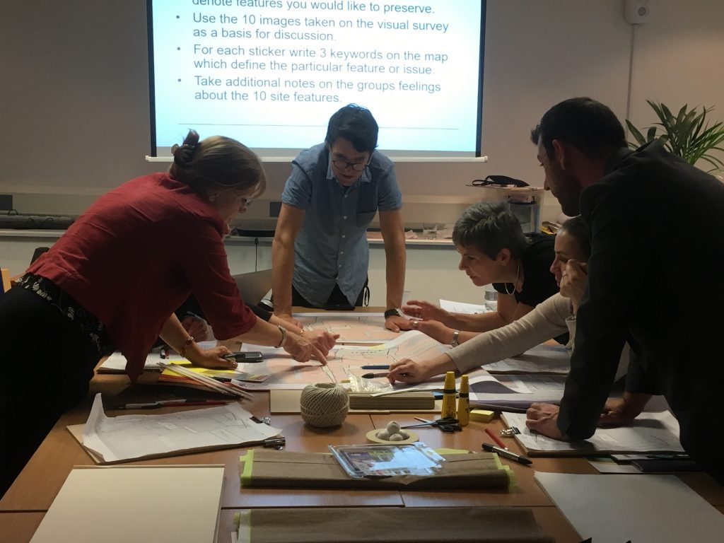Photo of participants in a workshop