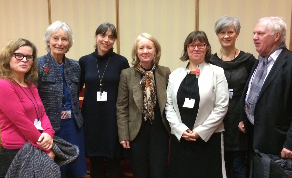 Photo of speakers at the House of Lords