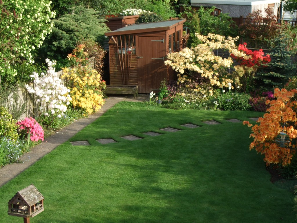 Photo of a garden by Joyce Wyles