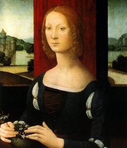 Lorenzo di Credi, Caterina Sforza
