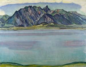 Ferdinand Hodler, Lake Thun and the Stockhorn Mountains, Scottish National Gallery of Modern Art